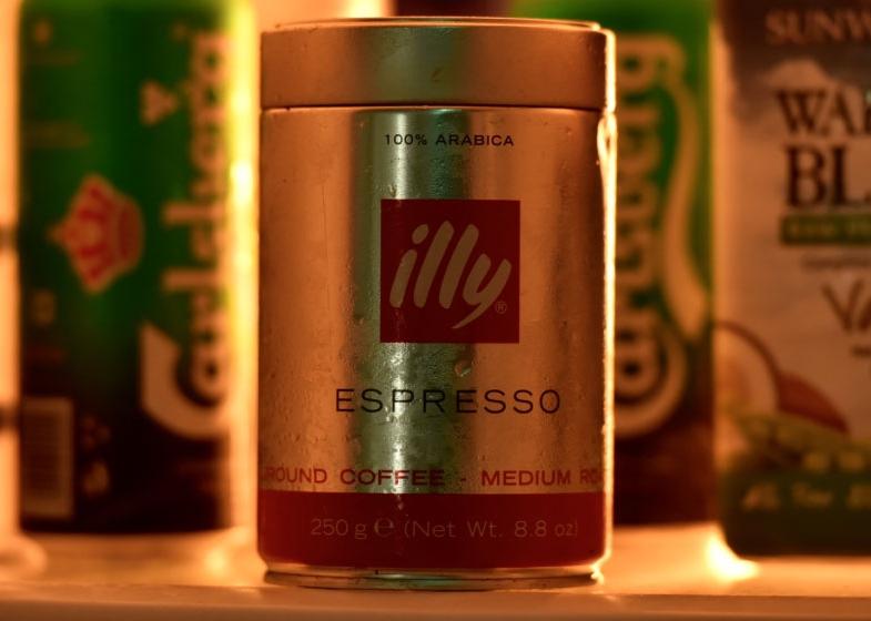 Illy medium roast ground espresso, image©gunjanvirk