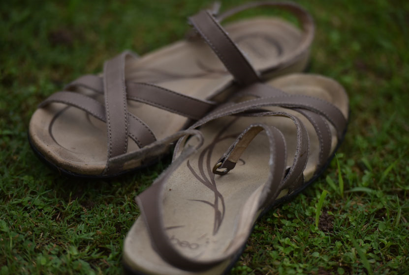 My Abeo sandals are great for walking! Image©gunjanvirk