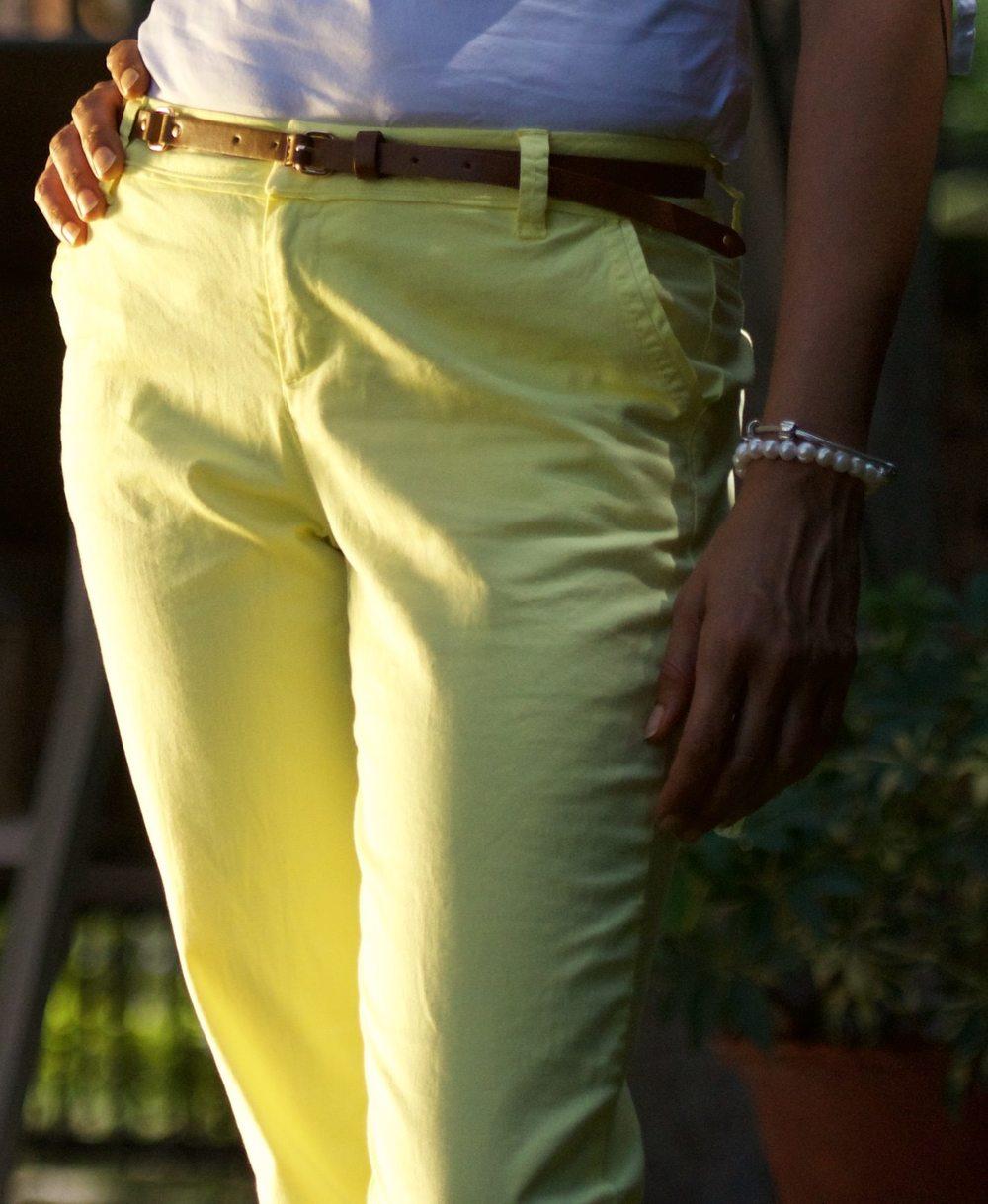 Shirt:Zara, Pants:Promod, Belt:Zara, Pearl Bracelet:Thomas Sabo, Silver Bracelet:Pandora. Image©gunjanvirk