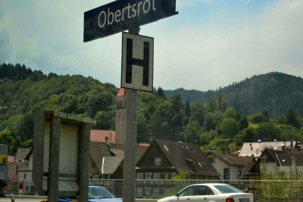 A train station in Black Forest. Germany by train. Image©gunjanvirk