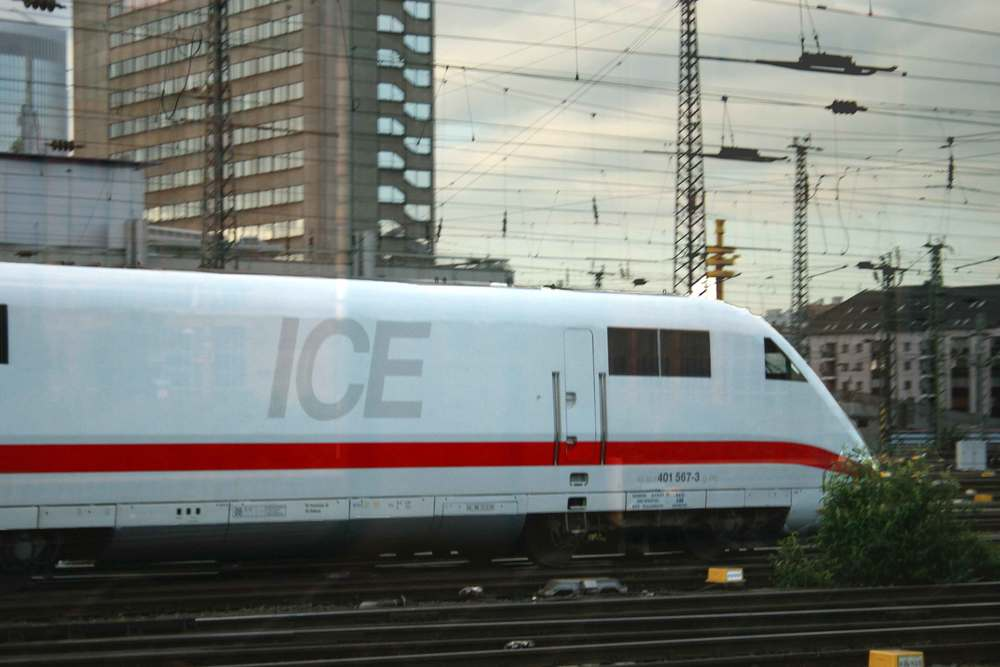 The German ICE train, image©gunjanvirk