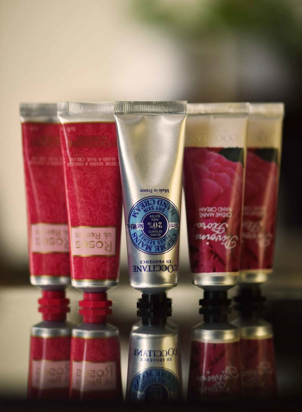 The L'Occitane hand cream set, image©gunjanvirk