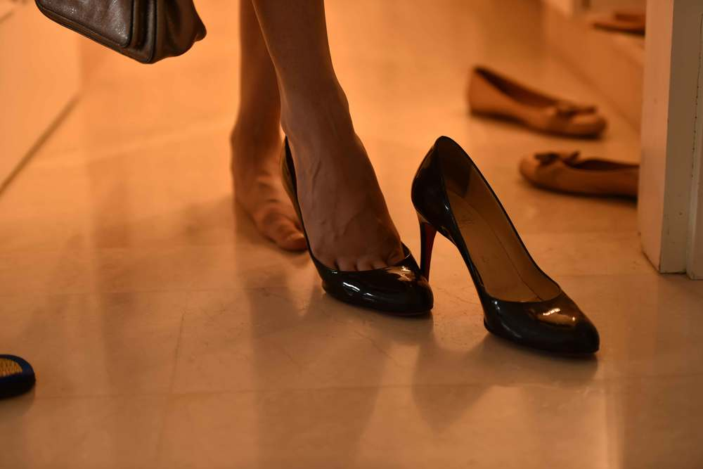 All good things come to an end...! Shoes: Loubitons. Image©gunjanvirk