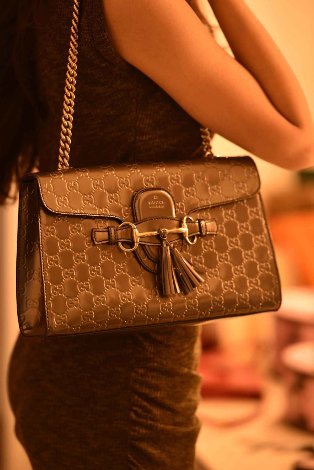 A formal evening Gucci bag, image©gunjanvirk.