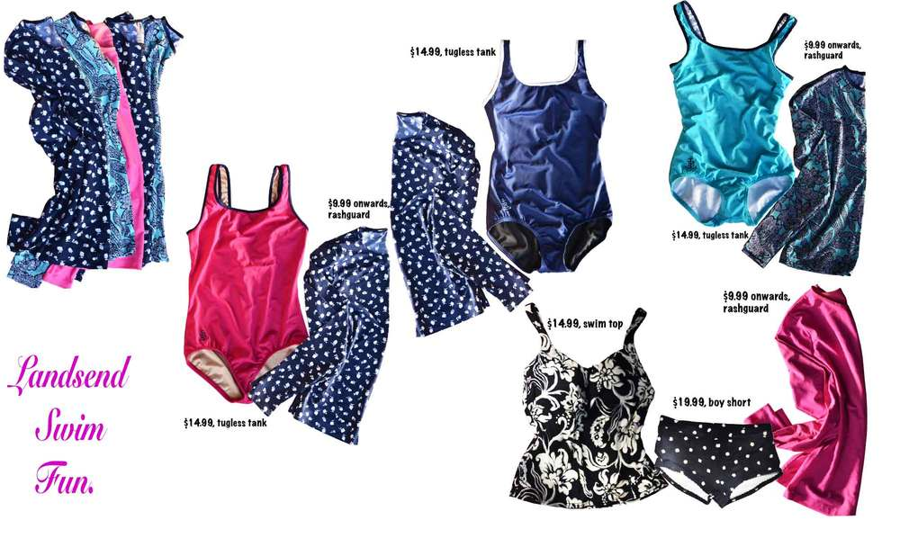 My Landsend swimsuits! Image©gunjanvirk