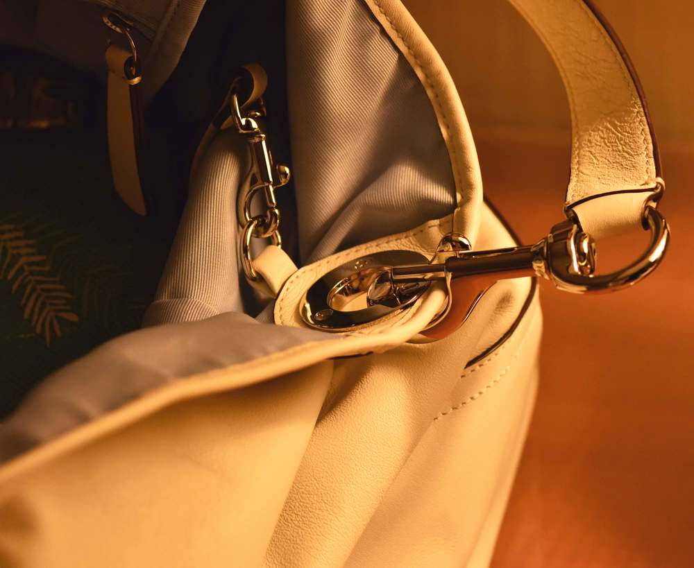 love the metallic hook in my Coach bag! Image©gunjanvirk