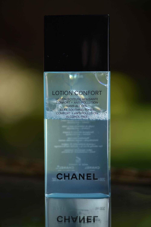 The Chanel Lotion Confort toner. #Image©gunjanvirk