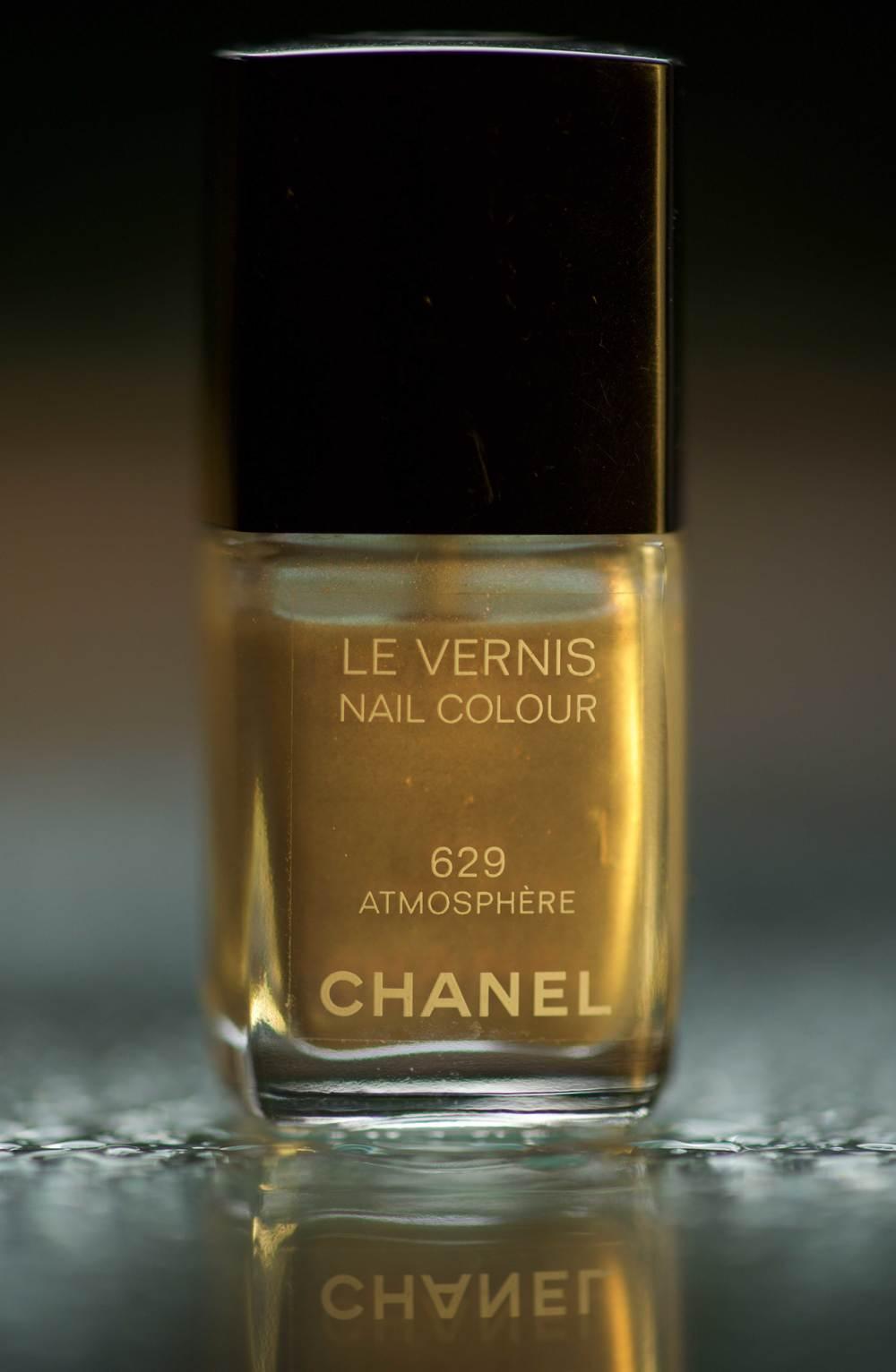 #Chanel Nail Color Le Vernis 629 in golden light, Image©gunjanvirk