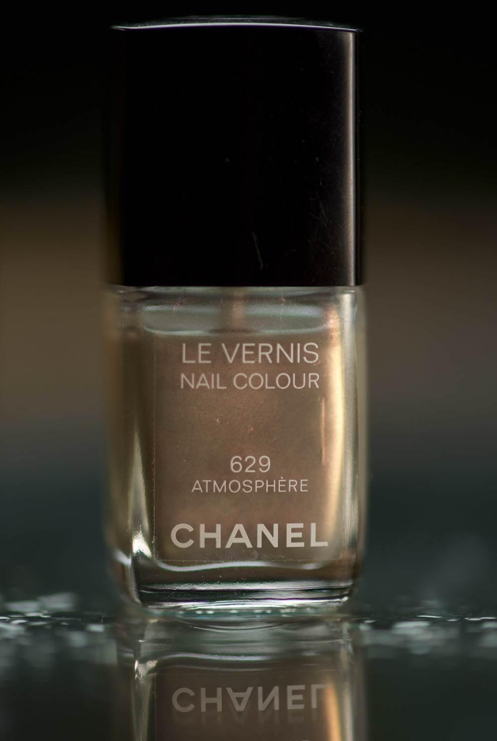 #Chanel Nail Color Le Vernis 629 in silver light,Image©gunjanvirk