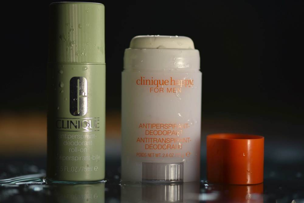 Clinique anti-perspirant deodorants. Image©gunjanvirk