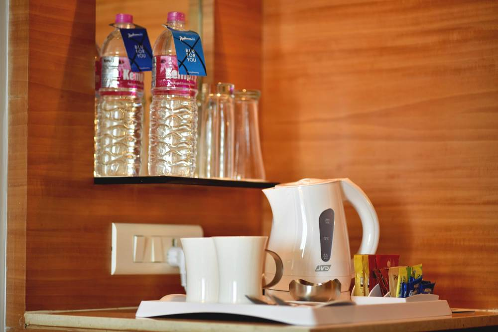 Tea and coffee in the room, Radisson Hotel, Ranchi. Image©sourcingstyle.com