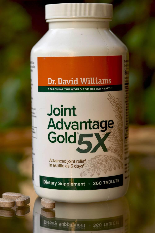 Dr David Williams Joint Advantage Gold 5X. Image©gunjanvirk