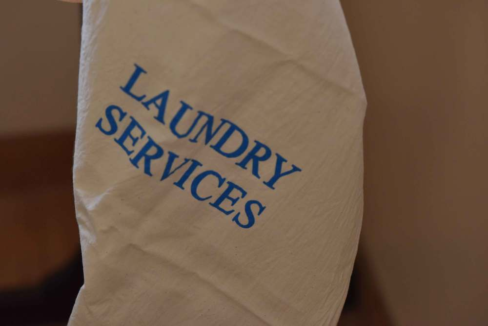 Laundry services bag. Image©gunjanvirk