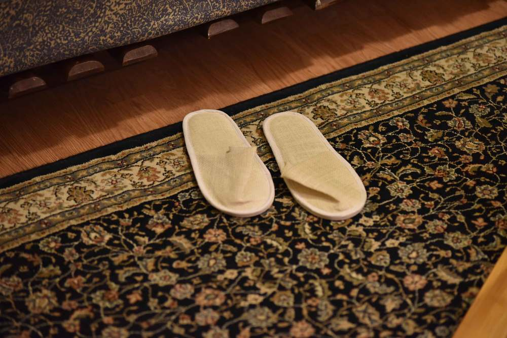 Room slippers. Image©gunjanvirk