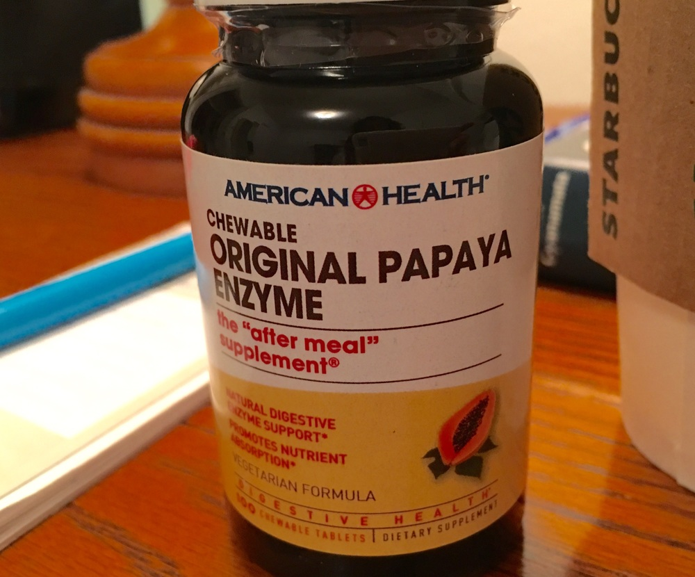 Papaya Enzymes saved the day! Image©gunjanvirk, camera iPhone 6s Plus