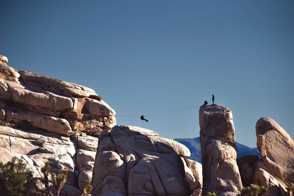 Zipline, Joshua Tree National Park. Image©sourcingstyle.com