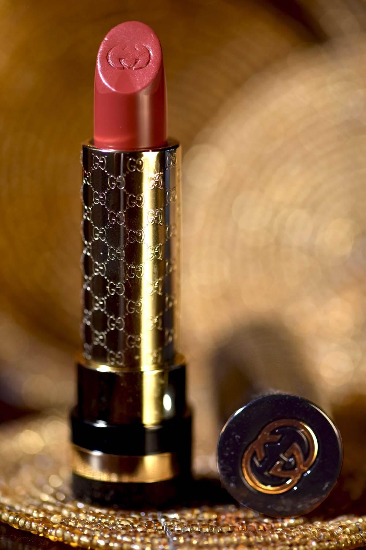 Gucci Cerise 070 Audacious lipstick. Image©gunjanvirk