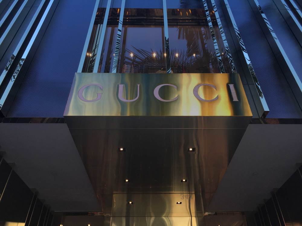 Gucci Store, 347 N Rodeo Drive, Beverly Hills, Los Angeles, CA, USA. Image©gunjanvirk