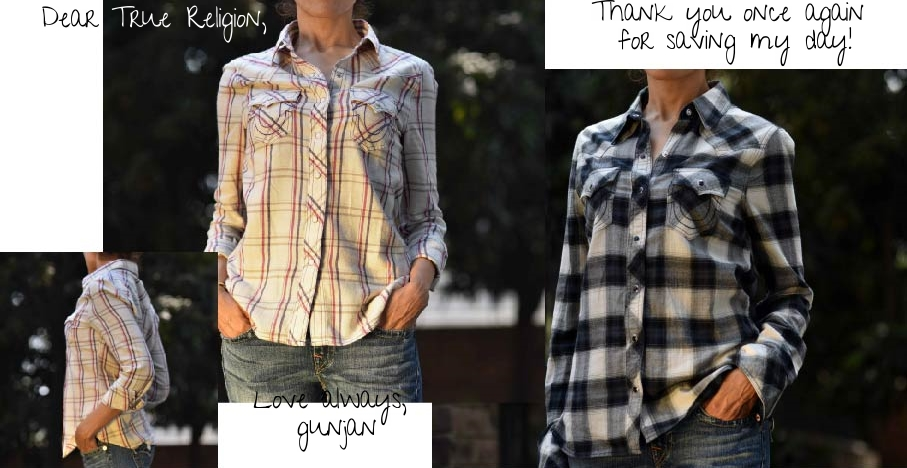 My True Religion shirts from Citadel Outlets, image©gunjanvirk