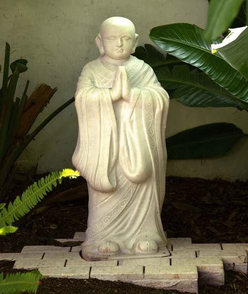 A statue of Buddha. Image©gunjanvirk