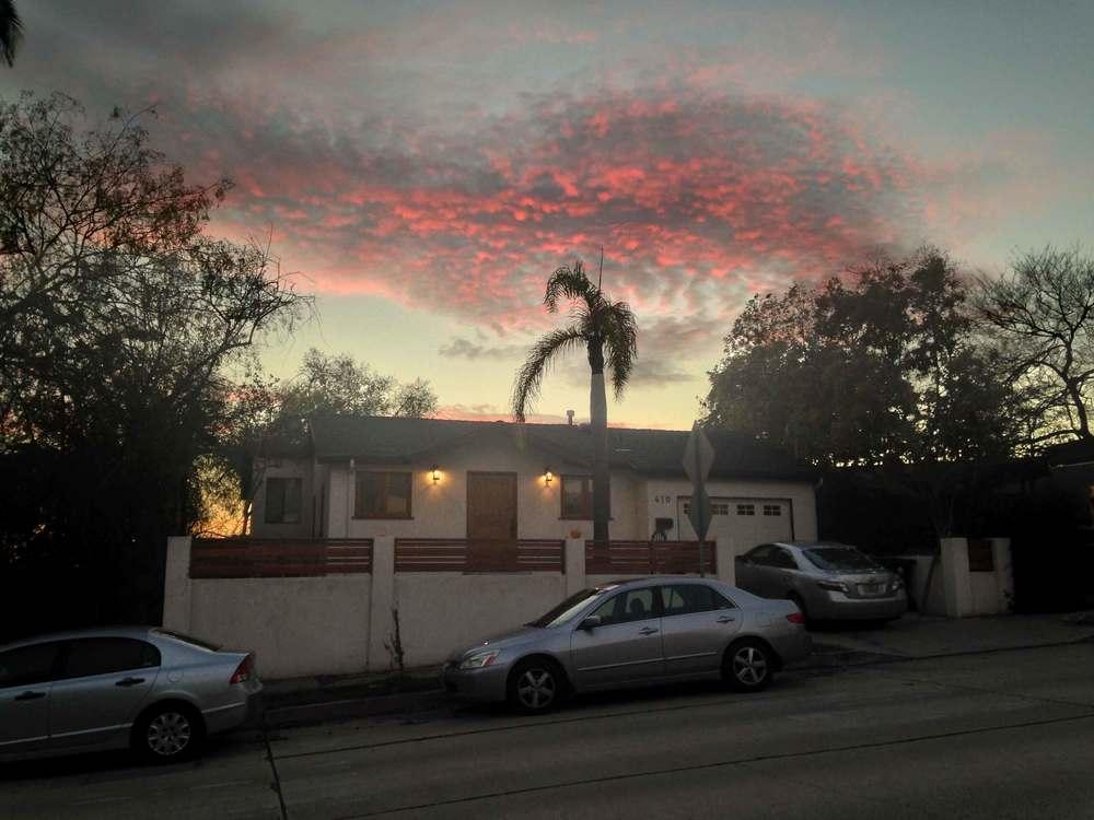 I love Los Angeles sunsets! Image©gunjanvirk
