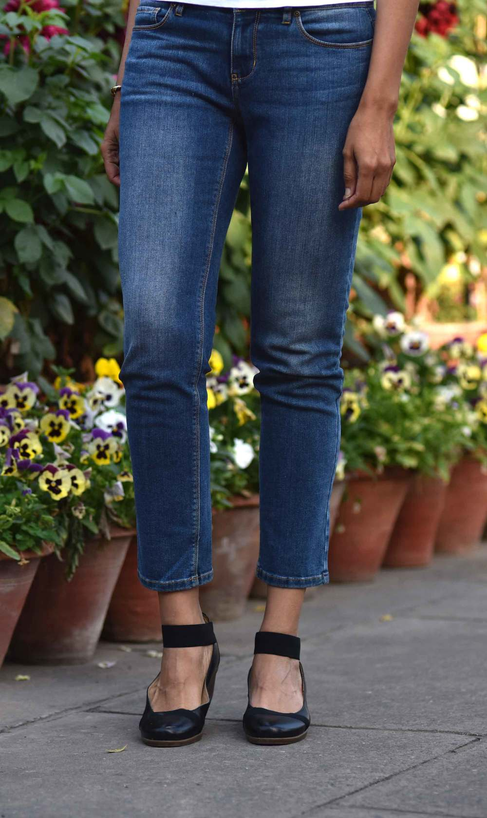 The JJill Authentic Fit Slim Ankle Jeans were a great buy! Image©gunjanvirk