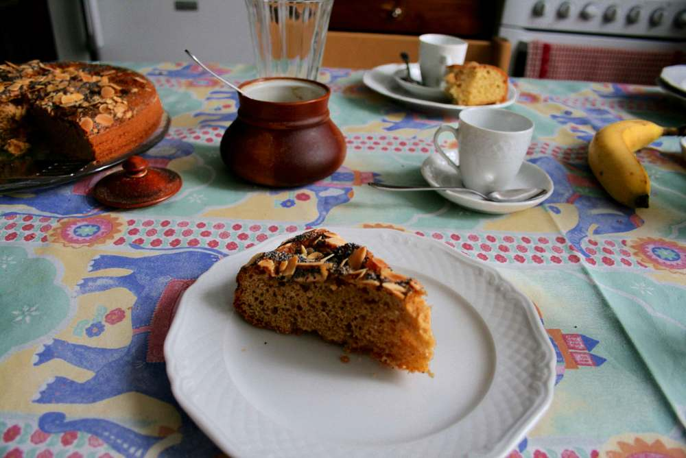 Nutcake and Espresso for an Italian breakfast! Image©gunjanvirk