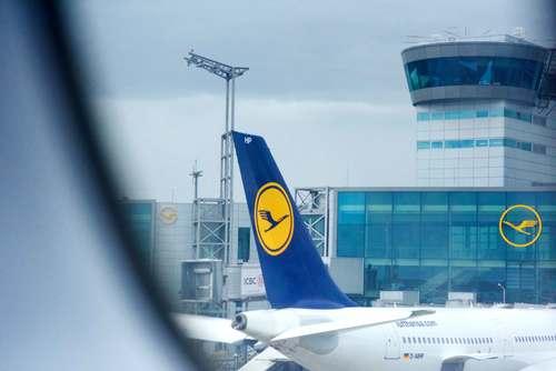 Watching outside the window as I land at Frankfurt airport. Image©gunjanvirk