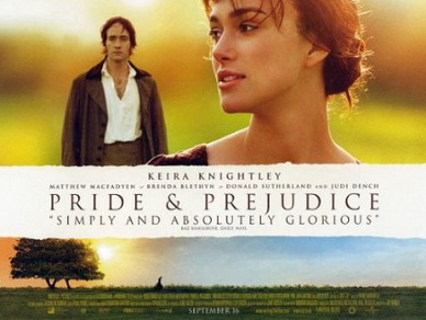Pride and Prejudice movie poster