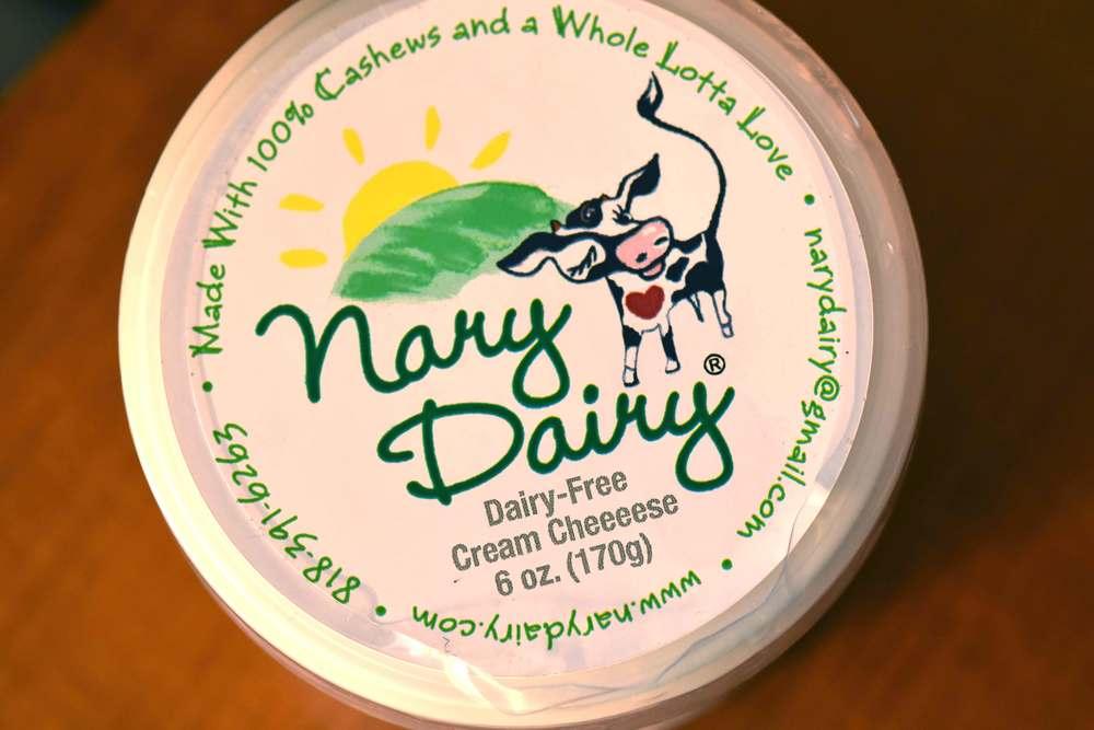 Nary Dairy dairy-free cream cheese. Image©gunjanvirk