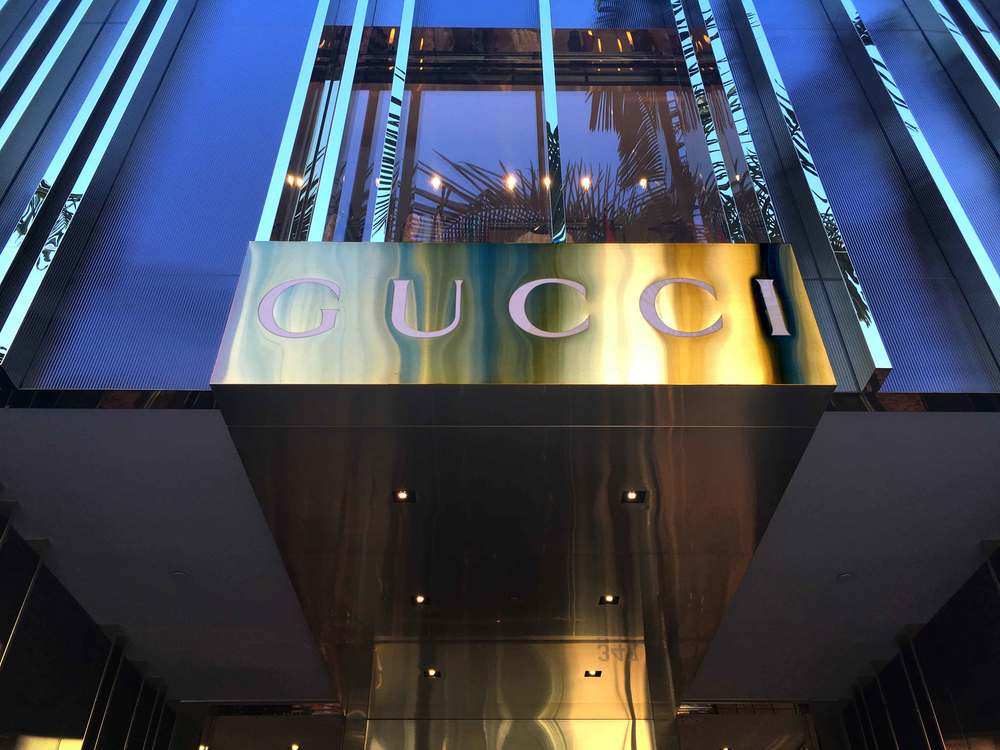 Gucci, Rodeo Drive, Beverly Hills. Rodeo Drive, Beverly Hills, L.A. Image©gunjanvirk