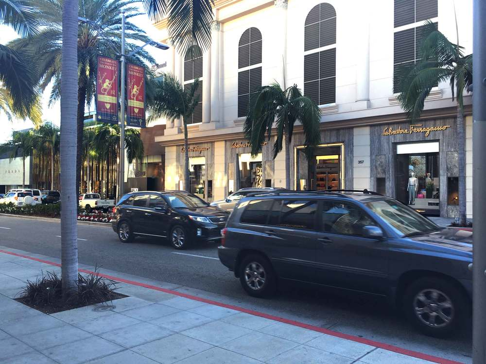 Ferragamo--all things Italian. Rodeo Drive, Beverly Hills, L.A. Image©gunjanvirk