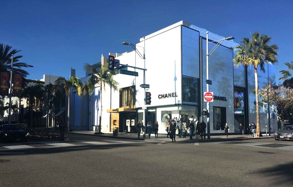 Chanel, my first love! Rodeo Drive, Beverly Hills, L.A. Image©gunjanvirk