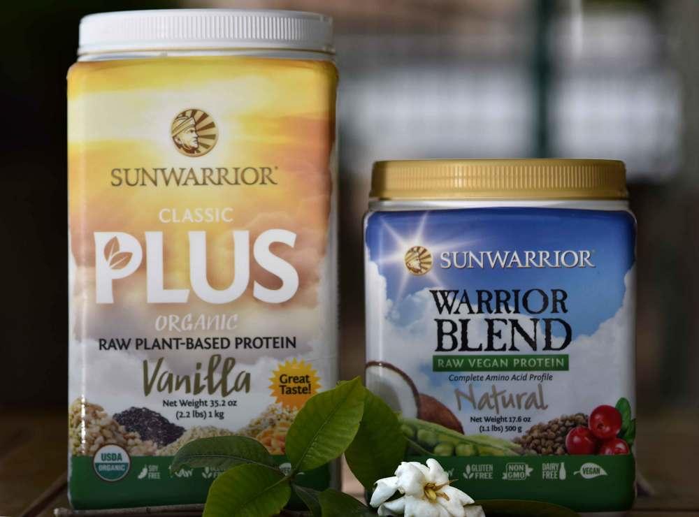 My favorite Sunwarrior Protein Powder. Image©gunjanvirk
