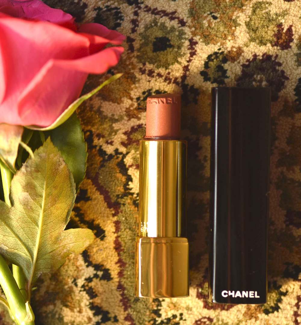 The Chanel Rouge Allure Intense Longwear Lipstick. Image©gunjanvirk