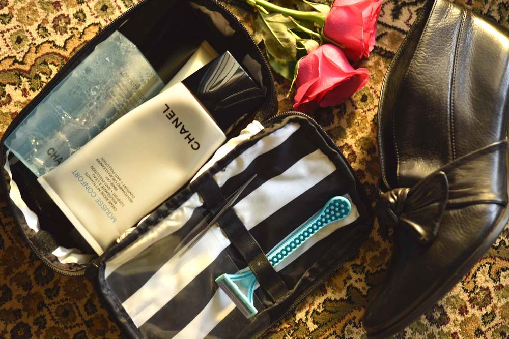 Sephora make-up organizer, cosmetics bag, travel bag. Image©gunjanvirk