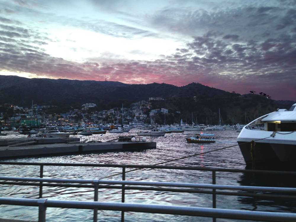 Catalina Island, sunset time. Image©sourcingstyle.com