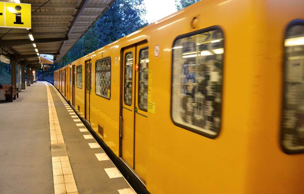 Underground train station, S Bahn, U Bahn, Berlin, Germany. Image©sourcingstyle.com