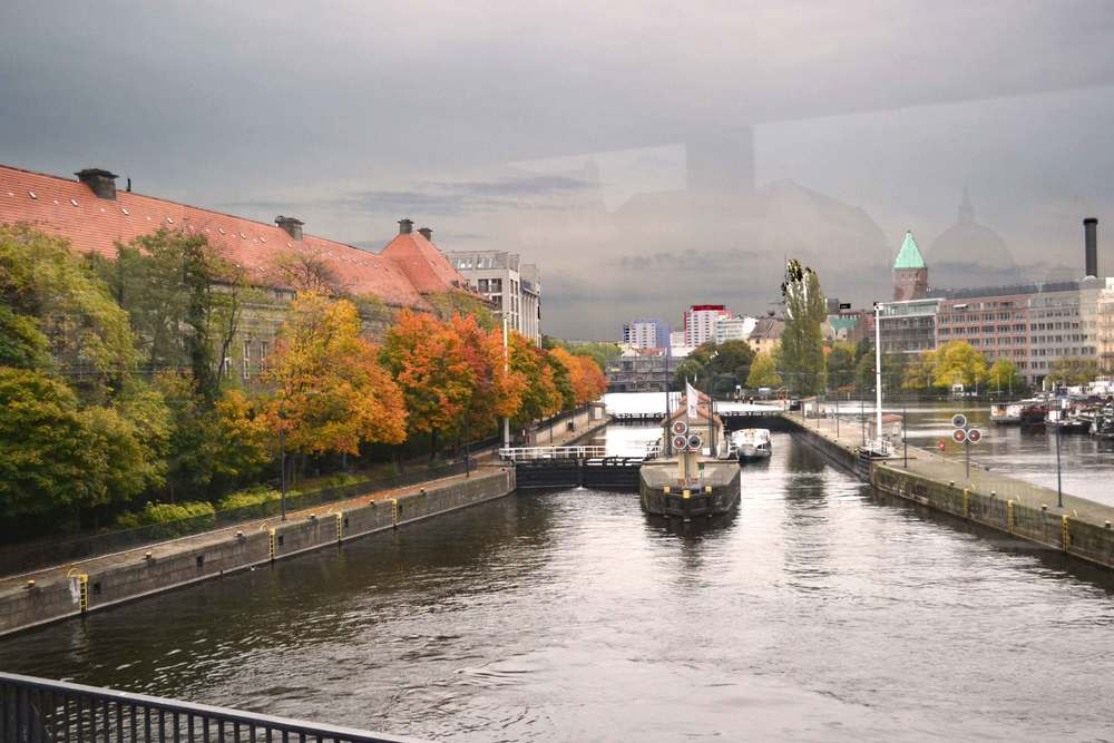 Spree, river, canal in Berlin, Germany. Image©sourcingstyle.com