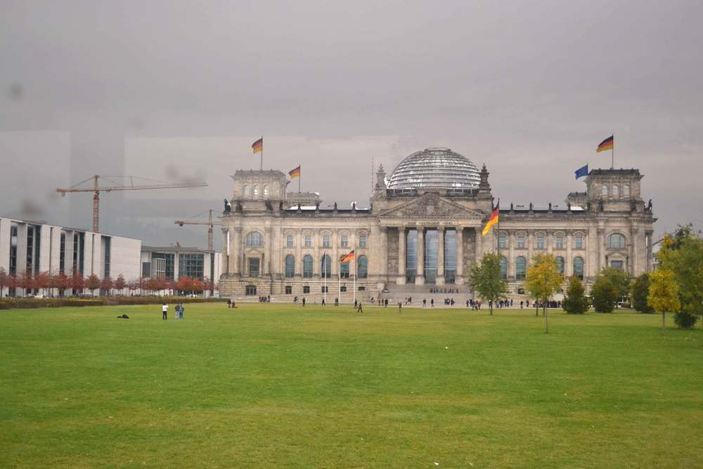 Reichstag building, historic, glass-domed home of Parliament, Berlin, Germany. Image©sourcingstyle.com