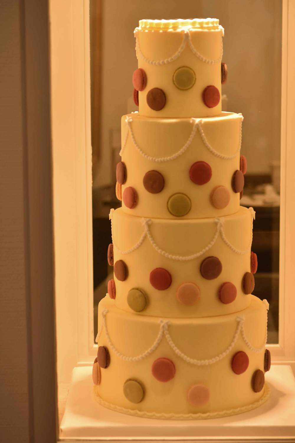 4 storey cake at Cafe König, Baden Baden, Germany. Image©sourcingstyle.com