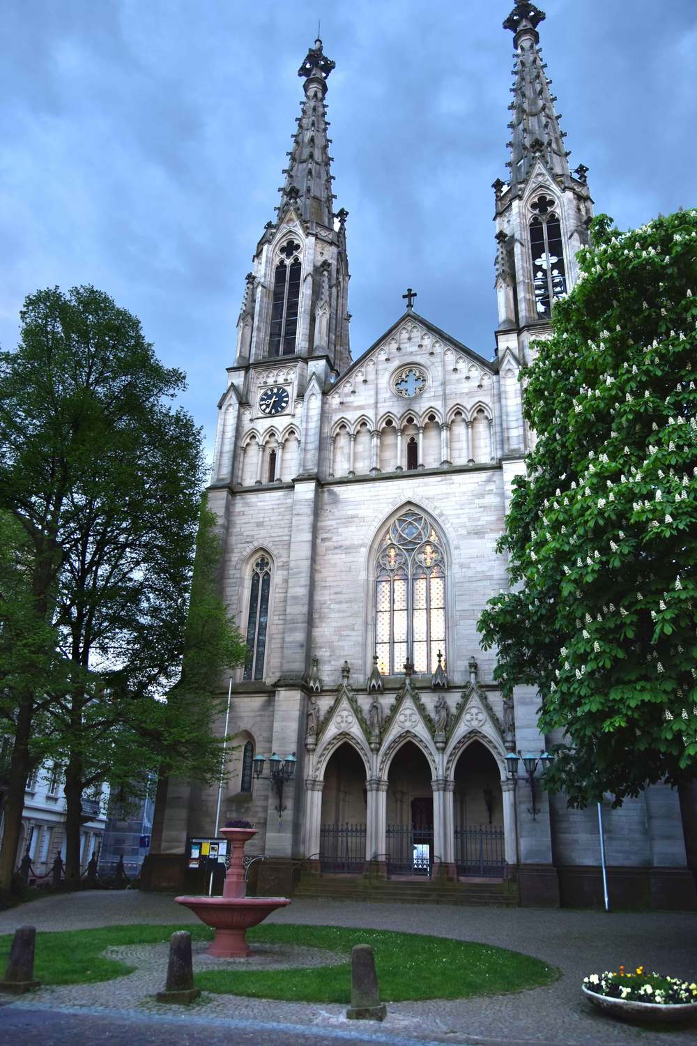 The cathedral, Baden Baden, Germany. Image©sourcingstyle.com