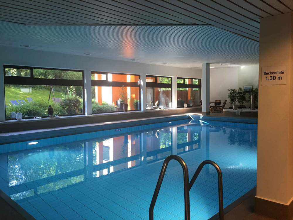 Swimming pool, Leonardo Royal hotel, Baden Baden, Germany. Image©sourcingstyle.com