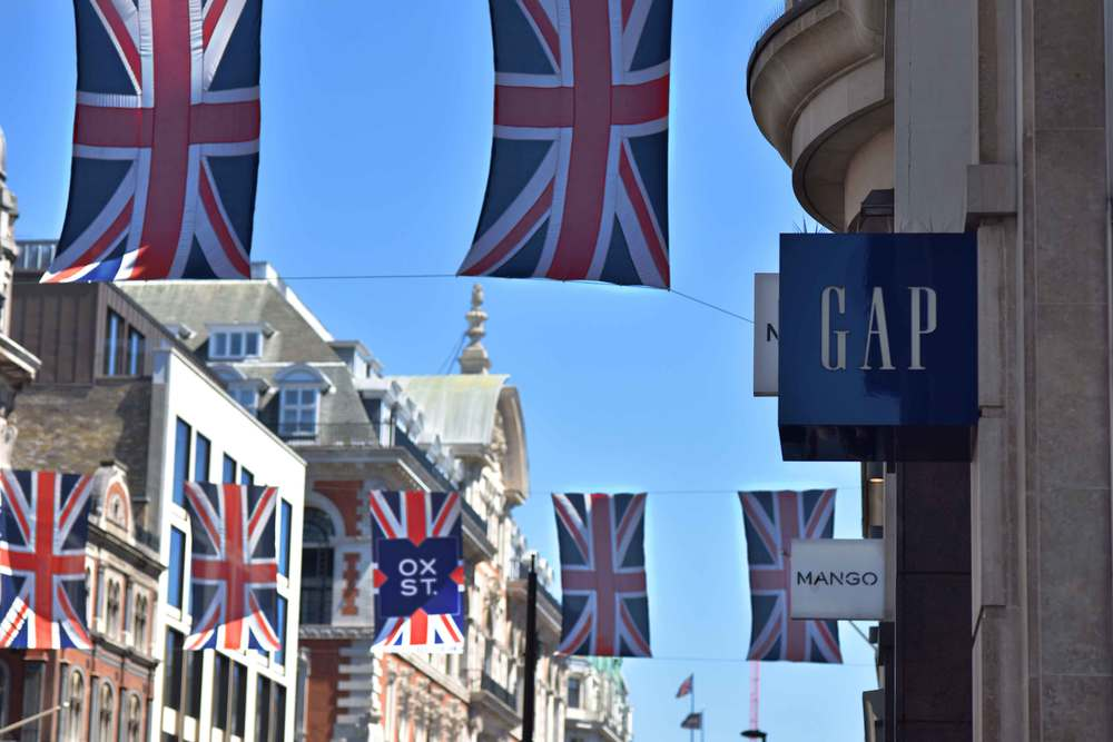 Oxford Circus, London. Image©sourcingstyle.com