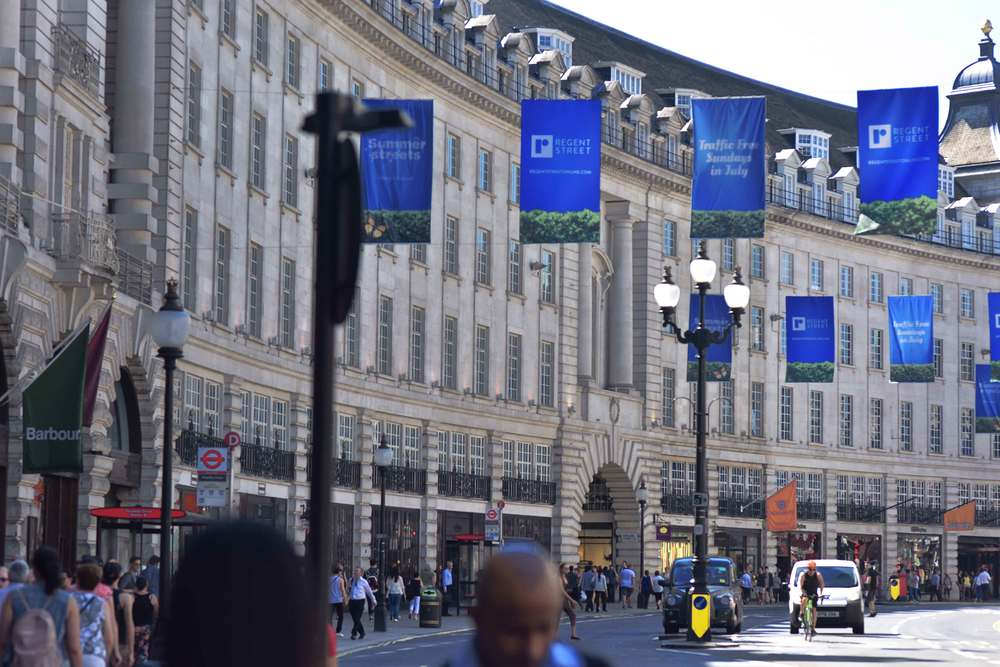 Regent's street, London. Image©sourcingstyle.com
