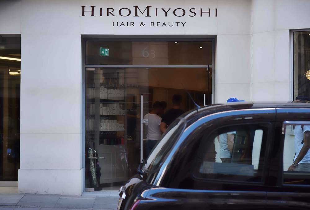 Hiro Miyoshi salon, Mayfair, London, UK. Image©sourcingstyle.com
