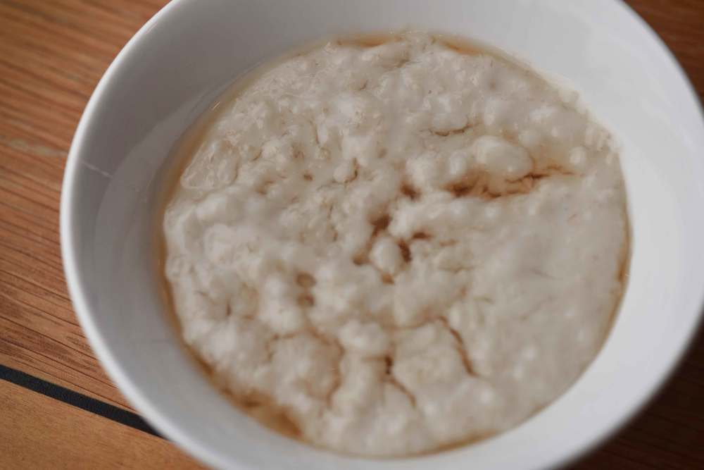 Porridge bowl, breakfast buffet, Mercure hotel, Inverness, Scotland. Image©sourcingstyle.com