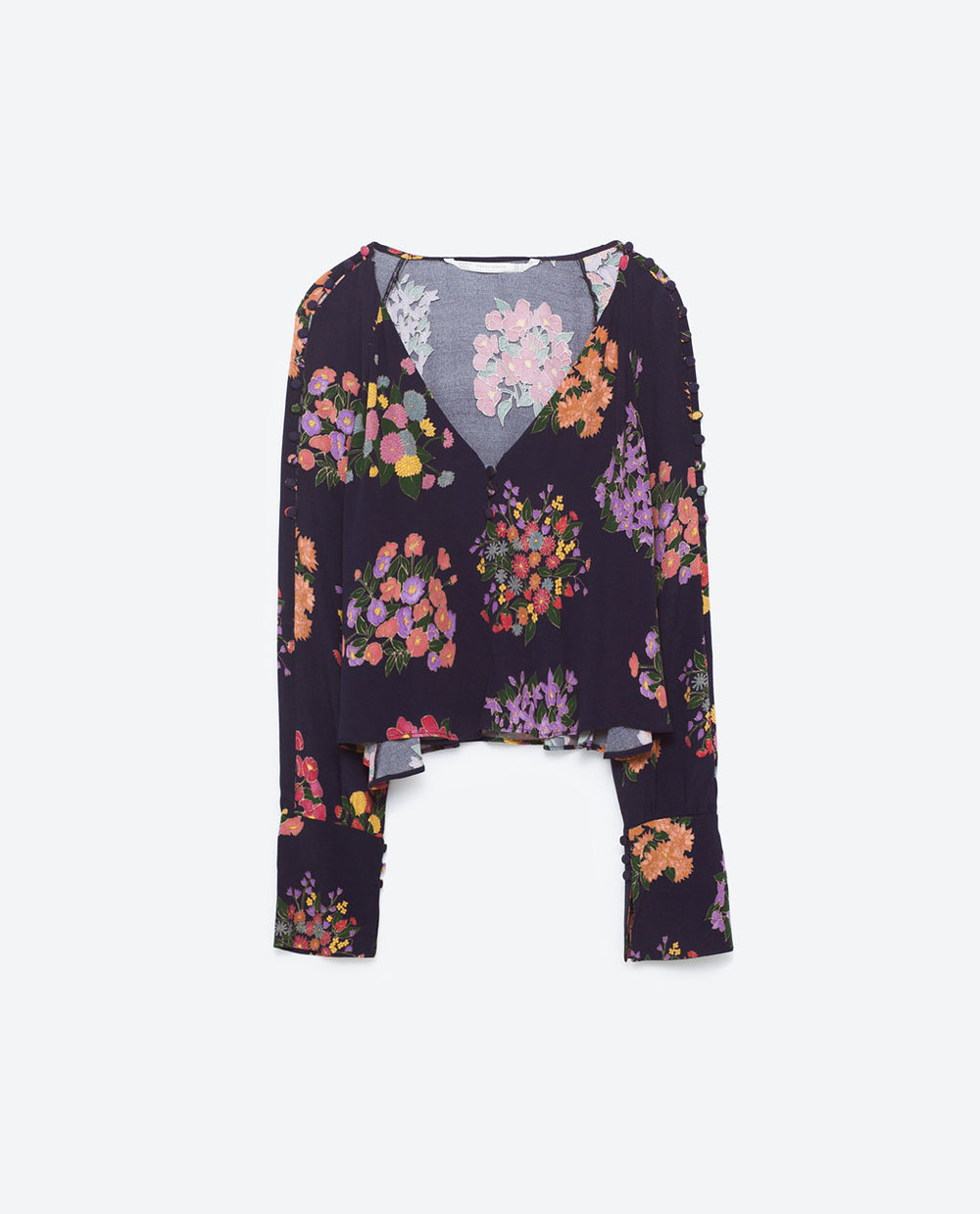 Zara floral top from zara.com.