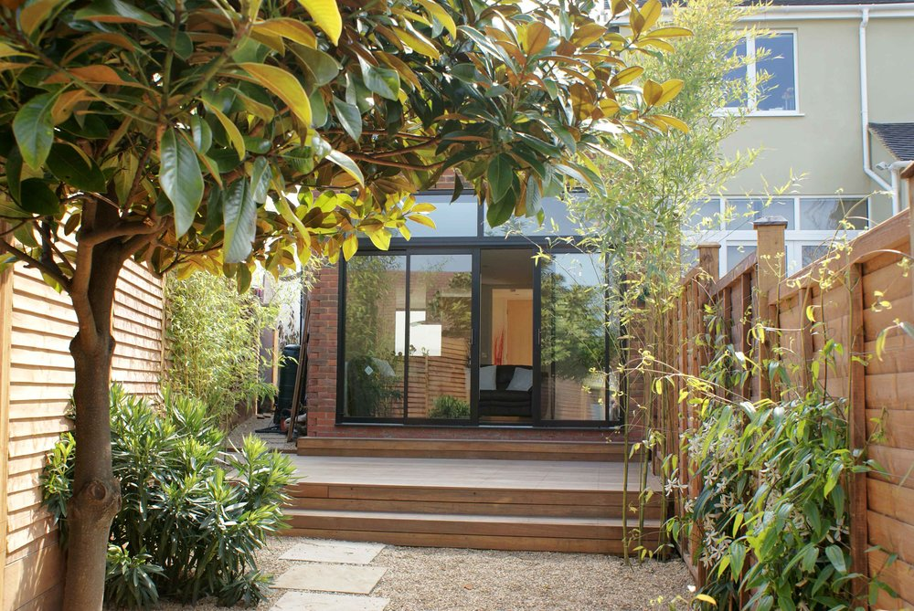 64, Woodstock Avenue, NW 11, London, U.K., a contemporary 3 bed Eco house in Golders Green, designed & built by Joe Crosby, Paragon Design & Build, North London, U.K. Image©JoeCrosby