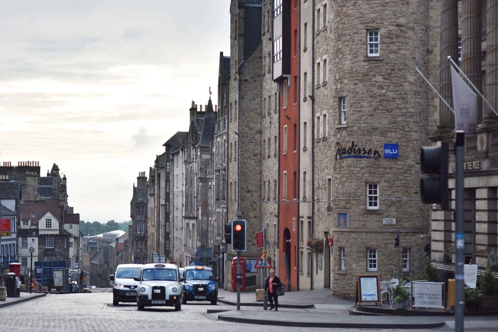 Edinburgh Old Town, Radisson Blu hotel, Edinburgh, Scotland. Image©sourcingstyle.com
